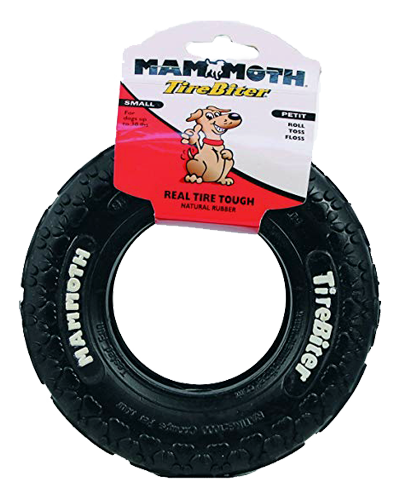 """Picture of Mammoth Pet 6"""" TireBiter Rubber Toy Small"""