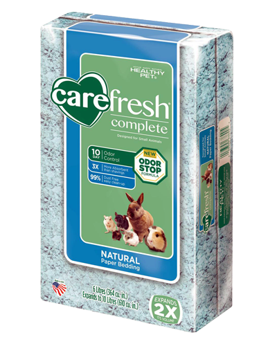 Picture of Carefresh Complete Naturals Color Paper Bedding Blue - 6 L