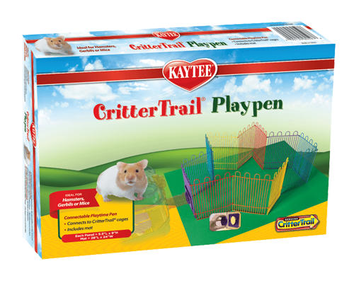 Picture of Kaytee CritterTrail Playpen with Mat