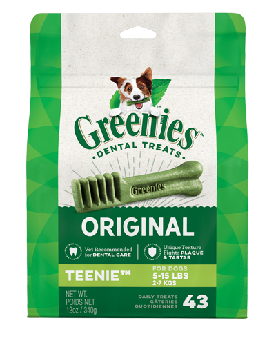 Picture of Greenies Original Teenie Dog Dental Treats - 12 oz.