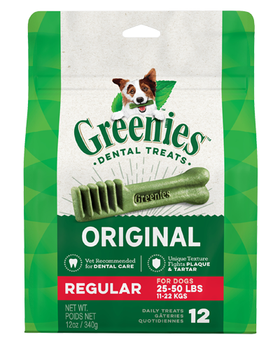 Picture of Greenies Original Dog Dental Treats - 12 oz.