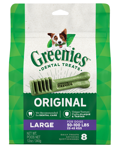 Picture of Greenies Original Large Dog Dental Treats - 12 oz.