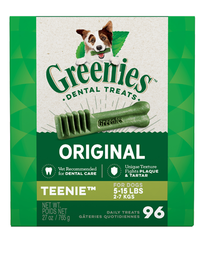 Picture of Greenies Original Teenie Dog Dental Treats - 27 oz.