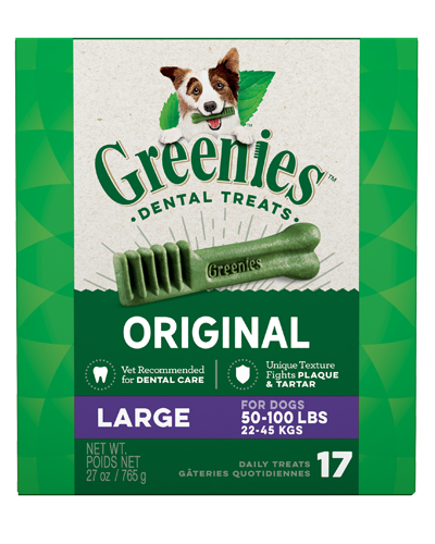 Picture of Greenies Original Large Dog Dental Treats - 27 oz.
