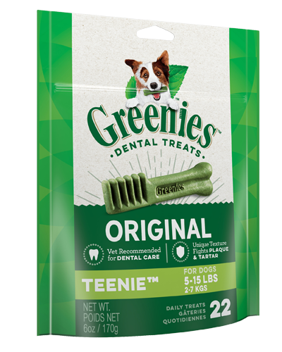 Picture of Greenies Original Teenie Dog Dental Treats - 6 oz.