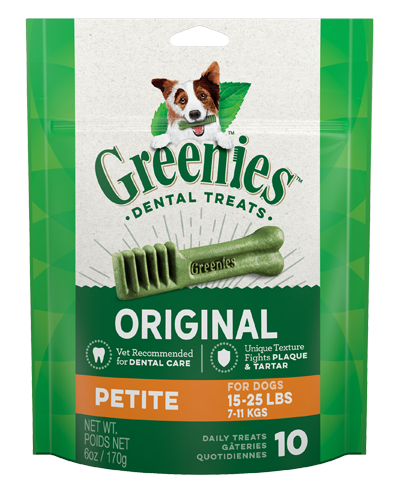 Picture of Greenies Original Petite Dog Dental Treats - 6 oz.