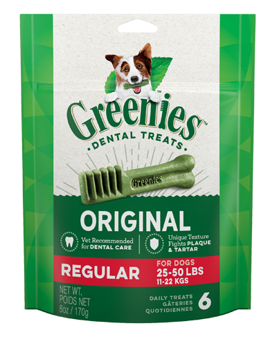 Picture of Greenies Original Dog Dental Treats - 6 oz.
