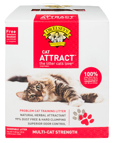 Picture of Dr. Elsey's Cat Attract Multi-Cat Litter - 20 lb.