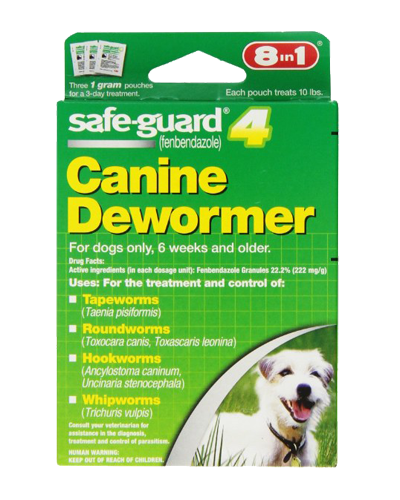 Picture of Safe-Guard 8 in 1 Dewormer for Small Dogs - 3 Ct