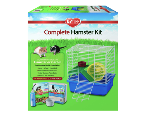Picture of Kaytee My First Home and Fiesta Complete Starter Kit for Hamsters