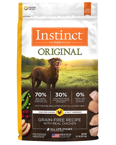 Picture of Nature's Variety Instinct Original Grain Free with Real Chicken - 22.5 lbs.