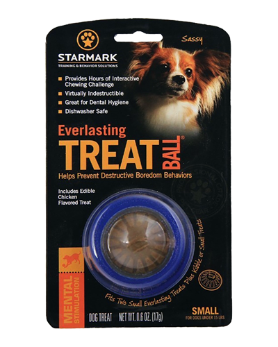 Picture of Starmark Everlasting Treat Ball Small - 2.5""