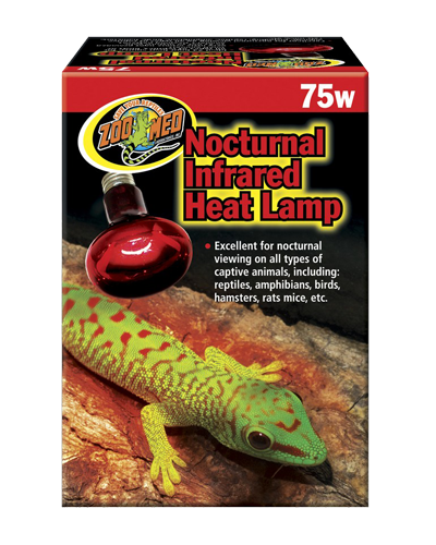 Picture of ZooMed Labs Nocturnal Infrared Heat Lamp - 75 Watt