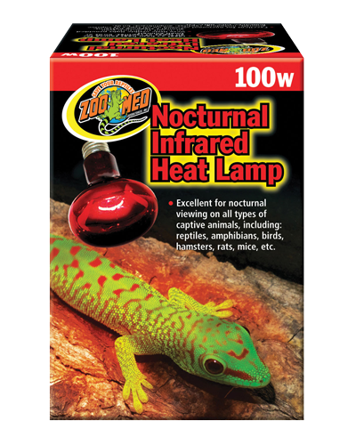Picture of ZooMed Labs Nocturnal Infrared Heat Lamp - 100 Watt