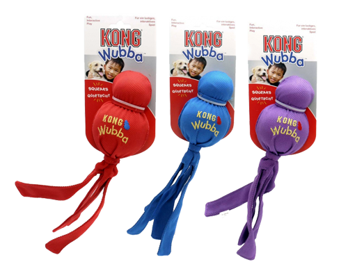 "Picture of KONG Wubba Dog Toy - 9"" Assorted Colors"