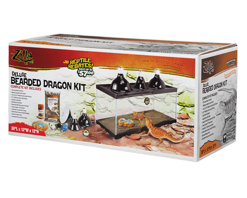 Picture of Zilla Deluxe Bearded Dragon Kit - 20 Long