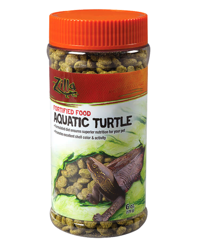 Picture of Zilla Aquatic Turtle Extruded Food Pellets - 6 oz.