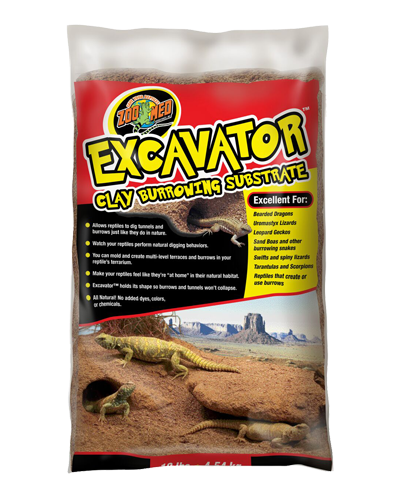Picture of ZooMed Labs Excavator Clay Burrowing Substrate - 10 lb.