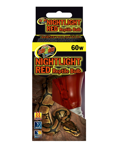 Picture of ZooMed Labs Nightlight Red Bulb - 60 Watt