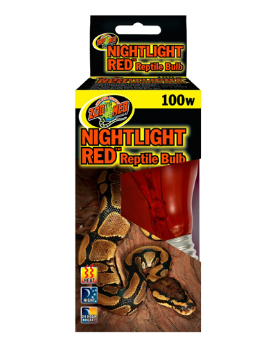 Picture of ZooMed Labs Nightlight Red Bulb - 100 Watt