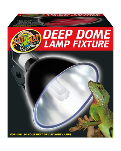 """Picture of ZooMed Labs Deep Dome Lamp Fixture - 8.5"""""""