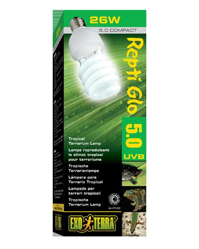 Picture of Exo Terra Repti Glo 5.0 Compact Bulb - 26 Watt