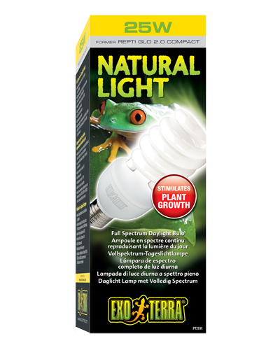 Picture of Exo Terra Natural Light Compact Fluorescent Bulb - 25 Watt