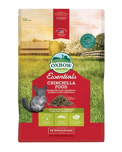 Picture of Oxbow Essentials Chinchilla Food - 10 lb.