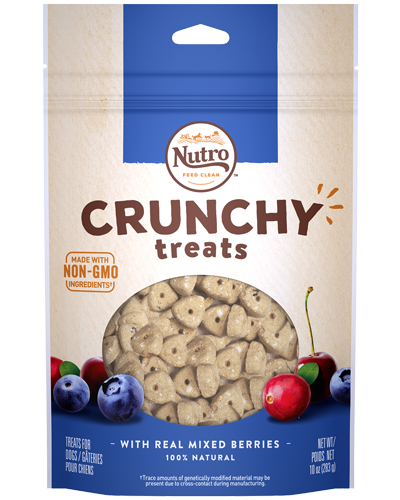 Picture of Nutro Crunchy Treats with Real Mixed Berries - 10 oz.
