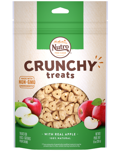 Picture of Nutro Crunchy Treats with Real Apple - 10 oz.
