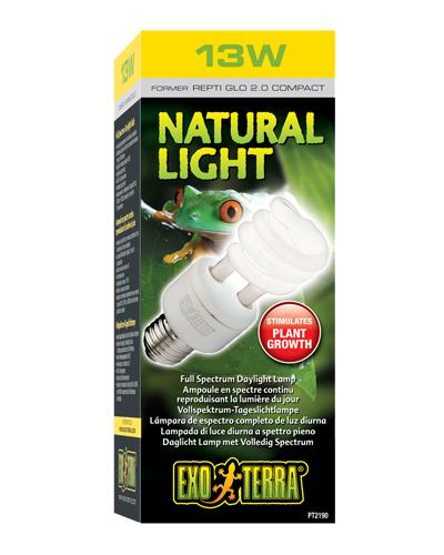 Picture of Exo Terra Natural Light Compact Fluorescent Bulb - 13 Watt