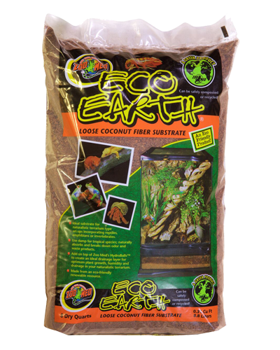 Picture of ZooMed Labs Eco Earth Coconut Fiber Substrate - 8 qt.