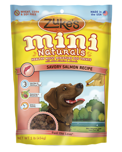 Picture of Zuke's Mini Naturals Salmon Recipe - 6 oz.