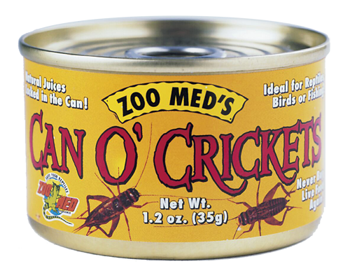 Picture of ZooMed Labs Mini Can O' Crickets - 1.2 oz.