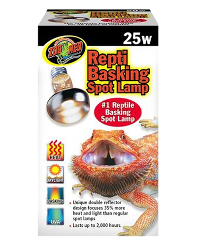 Picture of ZooMed Labs Repti Basking Spot Lamp - 25 Watt
