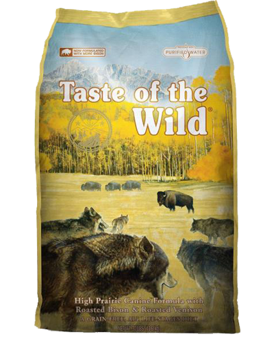 Picture of Taste Of The Wild Grain Free Adult High Prairie Recipe with Roasted Bison & Roasted Venison - 15 lbs.