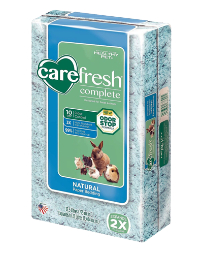 Picture of Carefresh Complete Naturals Color Paper Bedding Blue - 12.5 L