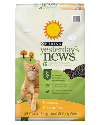 Picture of Purina Yesterdays News Original Formula Cat Litter - 30 lb.