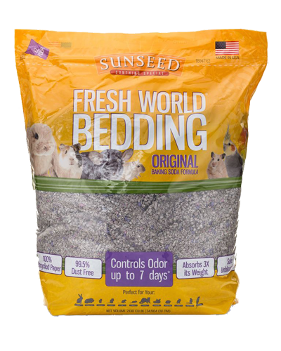 Picture of Sunseed Fresh World Bedding Gray - 35 L