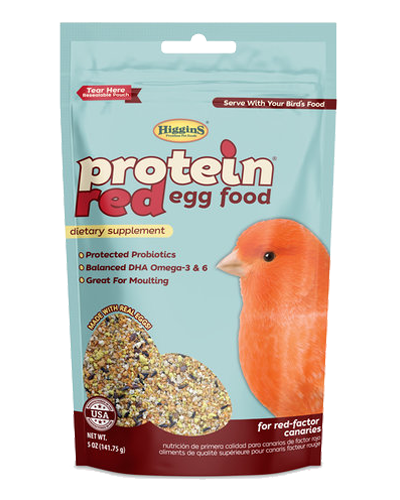 Picture of Higgins Protein Red Egg Food - 5 oz.