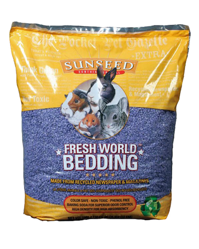 Picture of Sunseed Fresh World Bedding Purple - 35 L