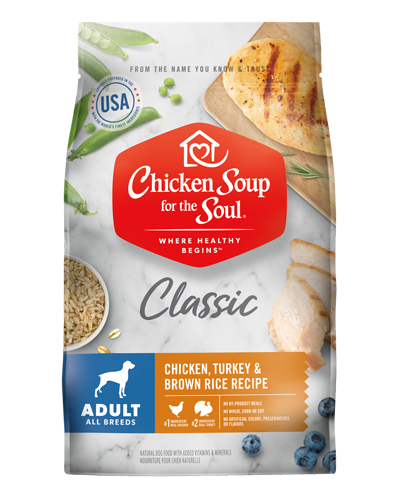 Picture of Chicken Soup for the Soul Adult Dry Dog Formula with Chicken and Turkey - 30 lb.