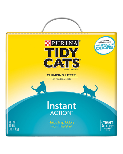 Picture of Purina Tidy Cats Instant Action Clumping Cat Litter - 40 lb.