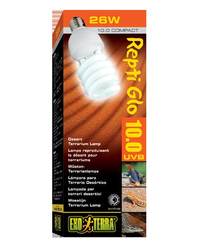 Picture of Exo Terra Repti Glo 10.0 Compact Desert Bulb - 26 Watt