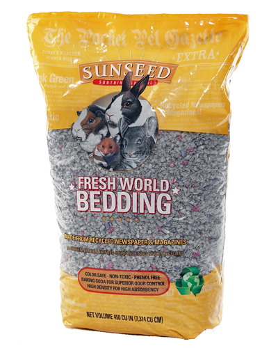 Picture of Sunseed Fresh World Bedding Gray - 7.4 L