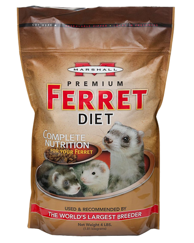 Picture of Marshall Premium Ferret Diet - 4 lb.