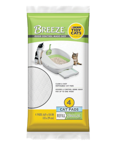 Picture of Purina Breeze Cat Litter Pads Refill - 4 Pack