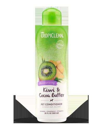 Picture of Tropiclean Kiwi & Cocoa Butter Conditioner - 20 oz