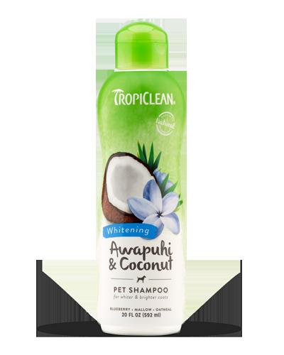 Picture of Tropiclean Awapuhi & Coconut Whitening Shampoo - 20 oz