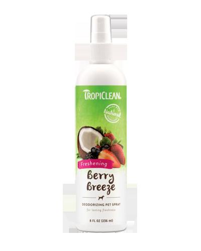 Picture of Tropiclean Berry Breeze Deodorizing Spray - 8 oz